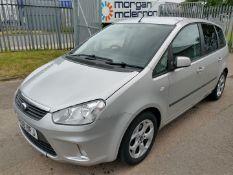 2008 Ford C-Max Zetec MPV 5dr 1.8 Petrol - CL505 - Ref: VVS0025 - NO VAT ON THE HAMMER - Location: C