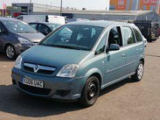 2006 Vauxhall Meriva 1.4 i 16v Club MPV 5dr Hatchback- CL505 - Ref: VVS044 - Location: Corby,
