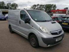 2009 Vauxhall Vivaro Sportive Cdti SWB Panel Van - CL505 - Ref: VVS0011 - NO VAT ON THE HAMMER - Loc