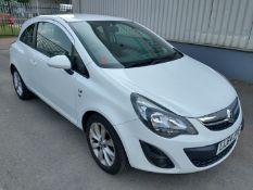 2014 Vauxhall Corsa Excite 3dr Hatchback 1.2 Petrol - CL505 - Ref: VVS034 - NO VAT ON THE HAMMER
