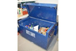 1 x Site Safe Tool Storage Chest - Ideal For Use on Worksites and Vans To Help Protect Your