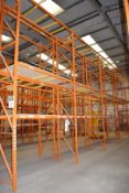 5 x Bays of RediRack Warehouse Pallet Racking - Lot Includes 6 x Uprights and 30 x Crossbeams -