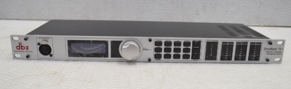 1 x DBX Driverack PA+ Loudspeaker Management System - Model DBXPA+V - RRP £379 - Recently Removed