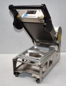1 x Metal Tech Manual Food Tray Sealing Machine - Type 190 - 2018 Model - 240v - Recently Removed