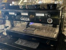 1 x GAGGIA 3-Station Gaggia Coffee Machine 900mm x 600mm - Ref: MAN259 - CL677 - Location: London