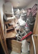 Contents Of Restaurant Store Room - Includes: ??? - Ref: MAN100 - CL677 - Location: London W1FThis