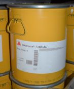 SikaForce -7720 L45 None Sagging Assembly Adhesive 25kg Barrel - New Sealed Stock - New - CL622 - Re
