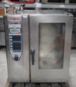 1 x Rational 10 Grid Commercial Oven - Model CPC 101 - 3 Phase - Recently Removed From a
