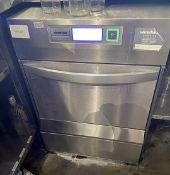1 x WINTERHALTER Under-Counter Glass Washer 600mm x 600mm x 850mm - Ref: MAN260 - CL677 -