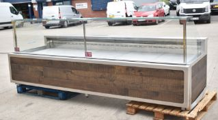 1 x Eurocryor Bistro Refrigerated Retail Counter - Suitable For Takeaways, Butchers, Deli, Cake