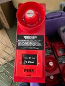 12 x Claxon Terrier Site Fire Alarms - CL667 - Location: Brighton, Sussex, BN26Collections:This item
