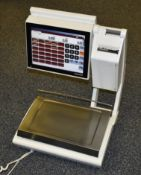 1 x Bizerba KHII 800 Professional Electronic Counter Scales - Computer Based Scales With User and