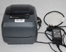 1 x Zebra GK420T 203dpi Desktop Label Printer - RRP £376