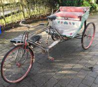 1 x Original Indian Rickshaw - New Tyres & Brakes - Great Restaurant Show Piece - CL535 - NO VAT