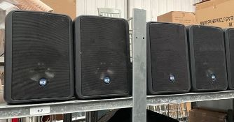 4 xRCF 175-Watt Two-Way Compact Monitor Speakers - Model Monitor 55 - RRP £492 - Ref: WH3 - CL999 -