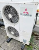 1 x MITSUBISH 'Daiya' Packaged Air Conditioner Split Type Outdoor Unit - Ref: ED222 - To Be