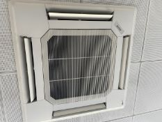 1 xMITSUBISHIAir Conditioning Ceiling Unit With Control Panel - Inverter Not Included - Ref: