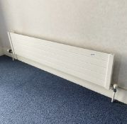 4 x Slimline Panel Radiators - Dimensions: 160 x 26 x 6cm - Ref: ED155 - To Be Removed From An Execu