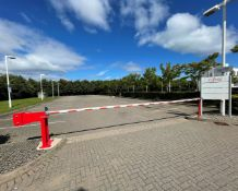 4 x Car Park Barriers - Each Measure 7-Metres Across, 90cm High - To Be Removed From An Executive