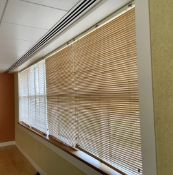 8 x Sets Of Window Blinds - Includes 4 x Sets Measuring 130 x 260cm, 4 x Set Measuring 130 x 170cm -