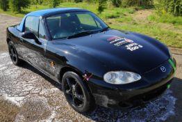 1 x 2002 Mazda MX5 Drift Car - Ref: T1 - CL682 - Location: Bedford NN29