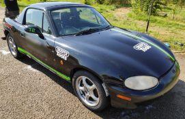 1 x Mazda MX5 Drift Car - Ref: T2 - CL682 - Location: Bedford NN29