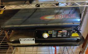 1 x Draper Jet Force DSH750 Diesel/Kerosene Space Heater - CL682 - Location: Bedford NN29