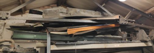 Assorted Car Body Panel Spares - Includes 350Z parts, BMW E36 Side Skirts, R33 Sideskirts and Over