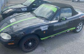 1 x Mazda MX5 Drift Car - Ref: T6 - CL682 - Location: Brands Hatch, Kent