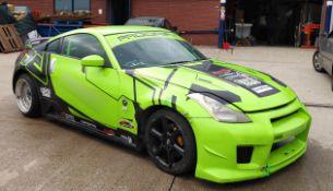 1 x Drift Spec Nissan 350Z - Ref: GreenMachine - CL682 - Location: Altrincham WA14