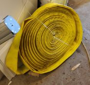 3 Rolls of Yellow 2 Inch High Pressure Hose - CL682 - Location: Bedford NN29