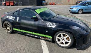 1 x Nissan 350Z Drift Car - Modified - Ref: T9 - CL682 - Location: Brands Hatch, Kent