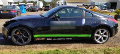 1 x Nissan 350Z GT Pack Drift Car - 4-Seater! - Ref: T11 - CL682 - Location: Bedford NN29
