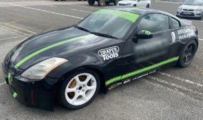 1 x Nissan 350Z Drift Car - Multiple Modifications - Ref: T10 - CL682 - Location: Brands Hatch, Kent