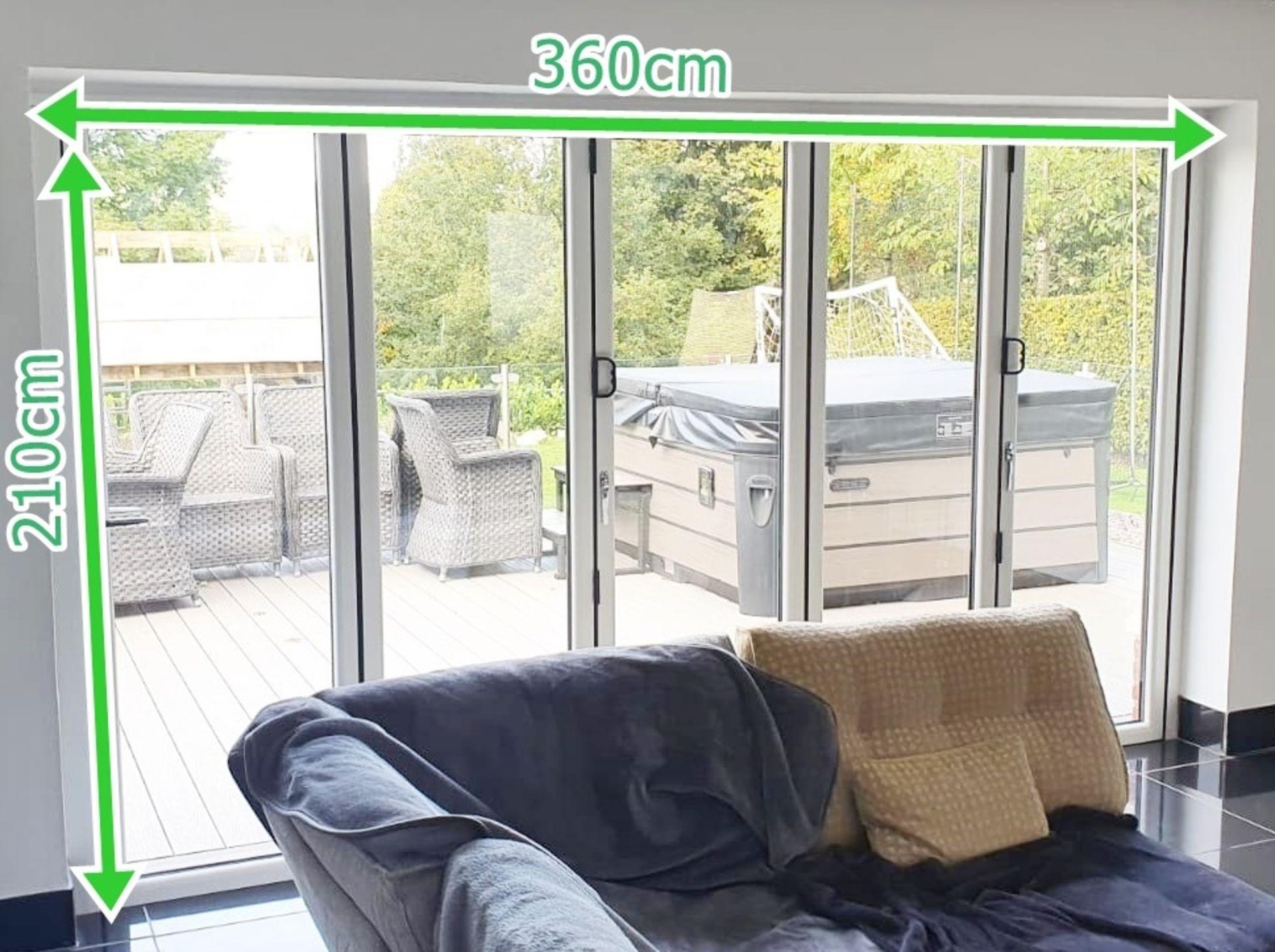 1 x Slide And Fold Bi Fold Doors Including Frames - CL685 - Location: Blackburn BB6 - NO VAT On - Image 5 of 7