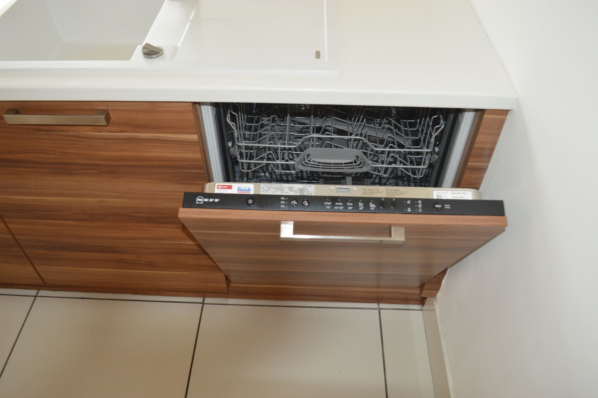 1 x Contemporary Bespoke Fitted Kitchen With Integrated Neff Branded Appliances, Quartz Worktops - Image 39 of 52