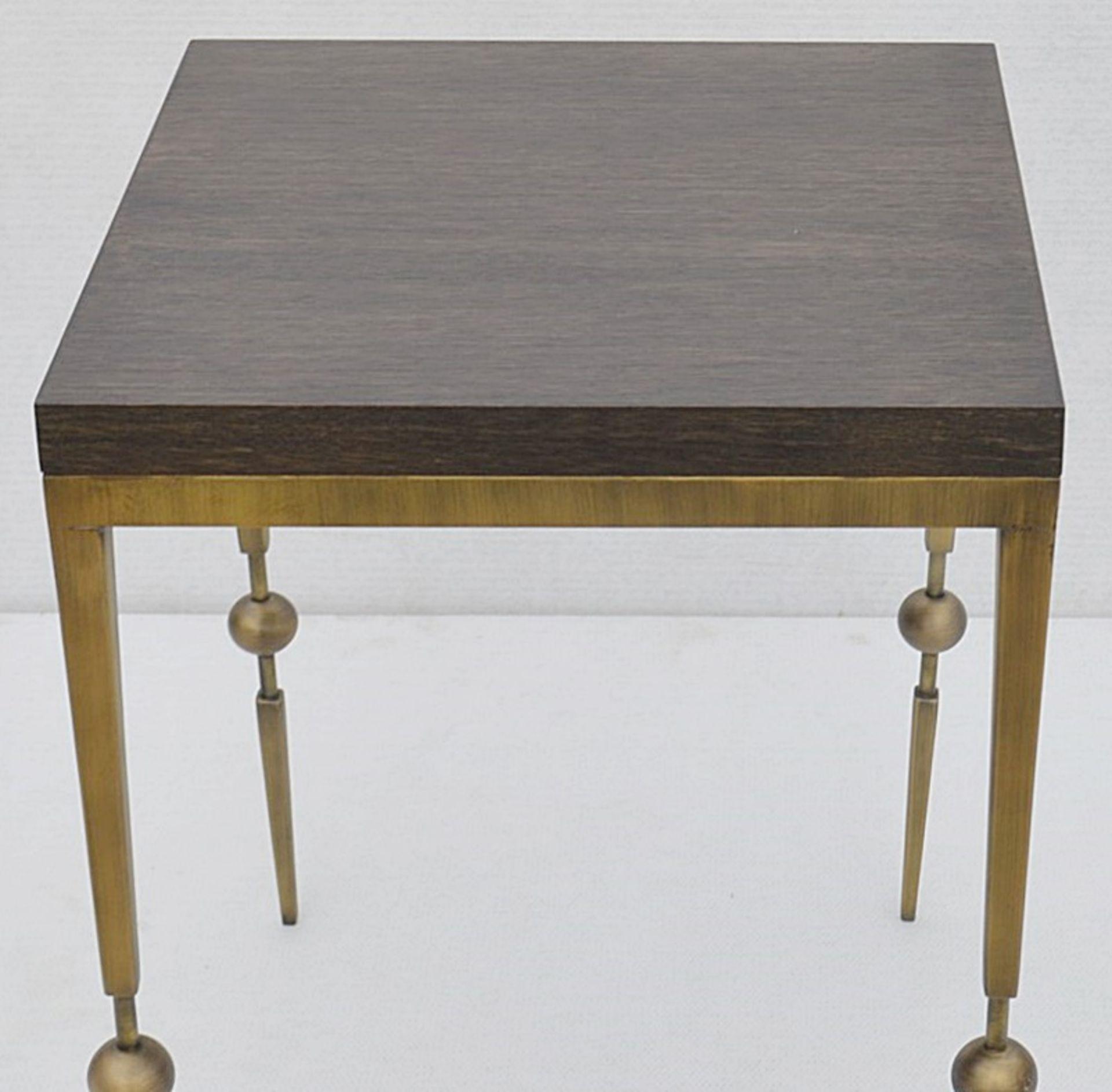 1 x JUSTIN VAN BREDA 'Sphere' Designer Occasional Table - Dimensions: H70 x W52 x D52cm - Ref: - Image 6 of 7