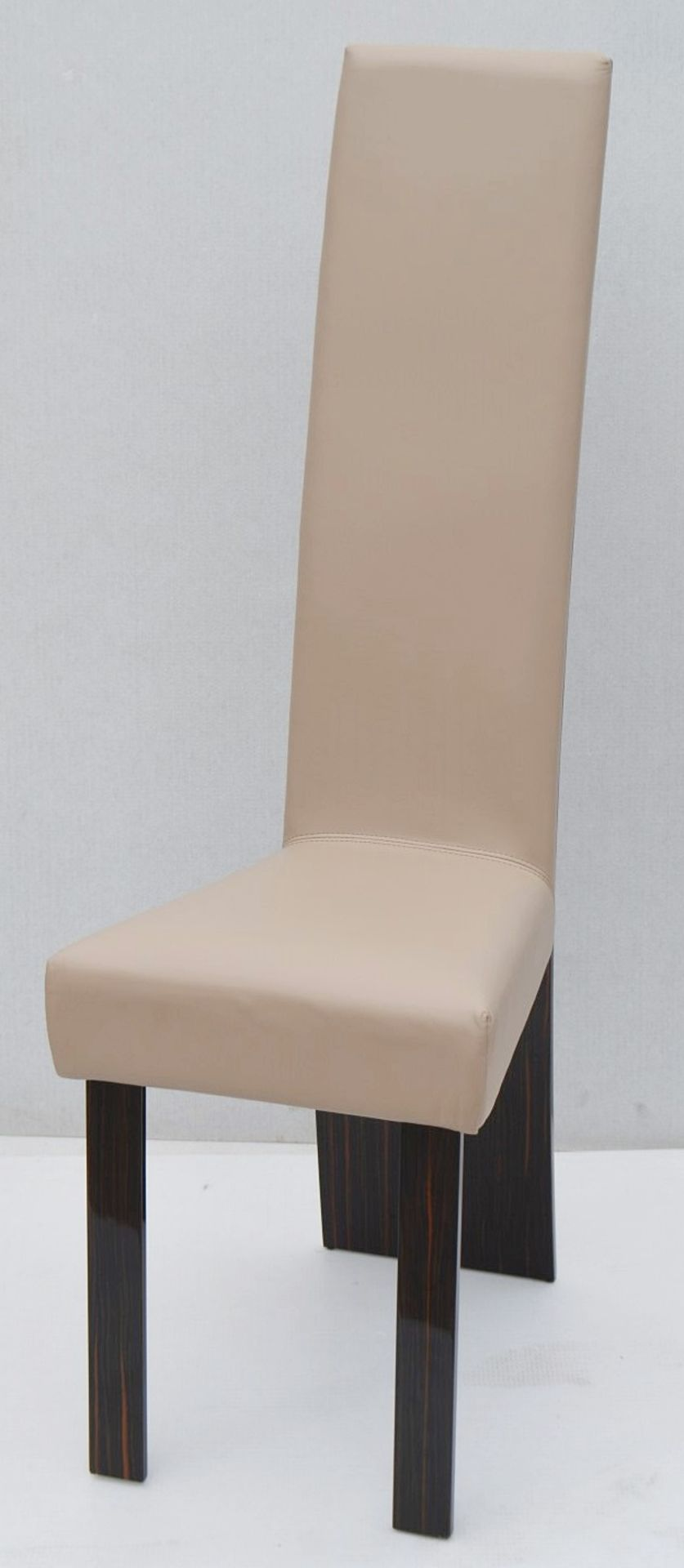 A Pair Of REFLEX 'New York-2' Designer Leather Upholstered High-back Chairs - Original RRP £2,578 - Image 4 of 8