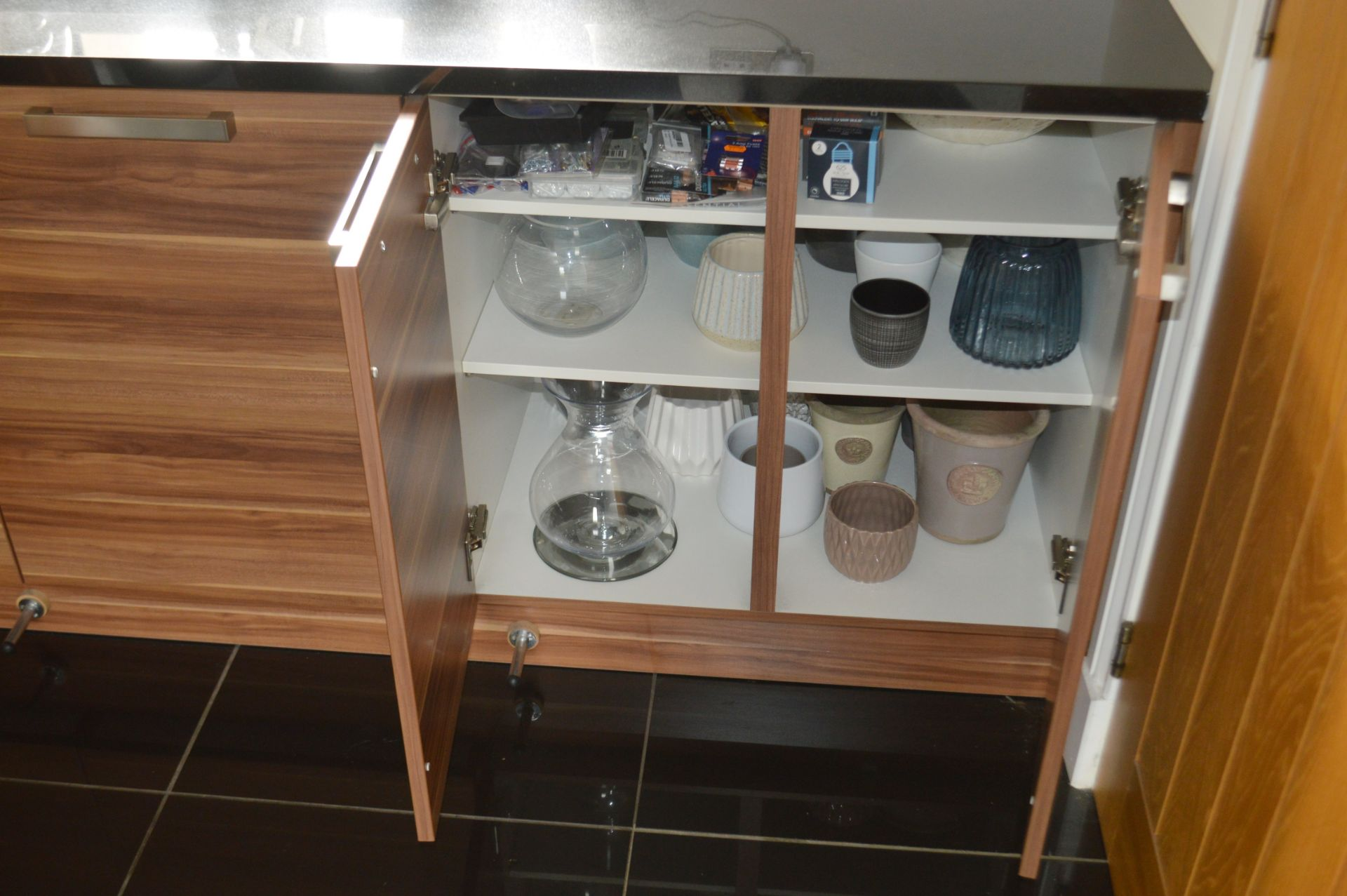 1 x Contemporary Bespoke Fitted Kitchen With Integrated Neff Branded Appliances, Quartz Worktops - Image 20 of 52