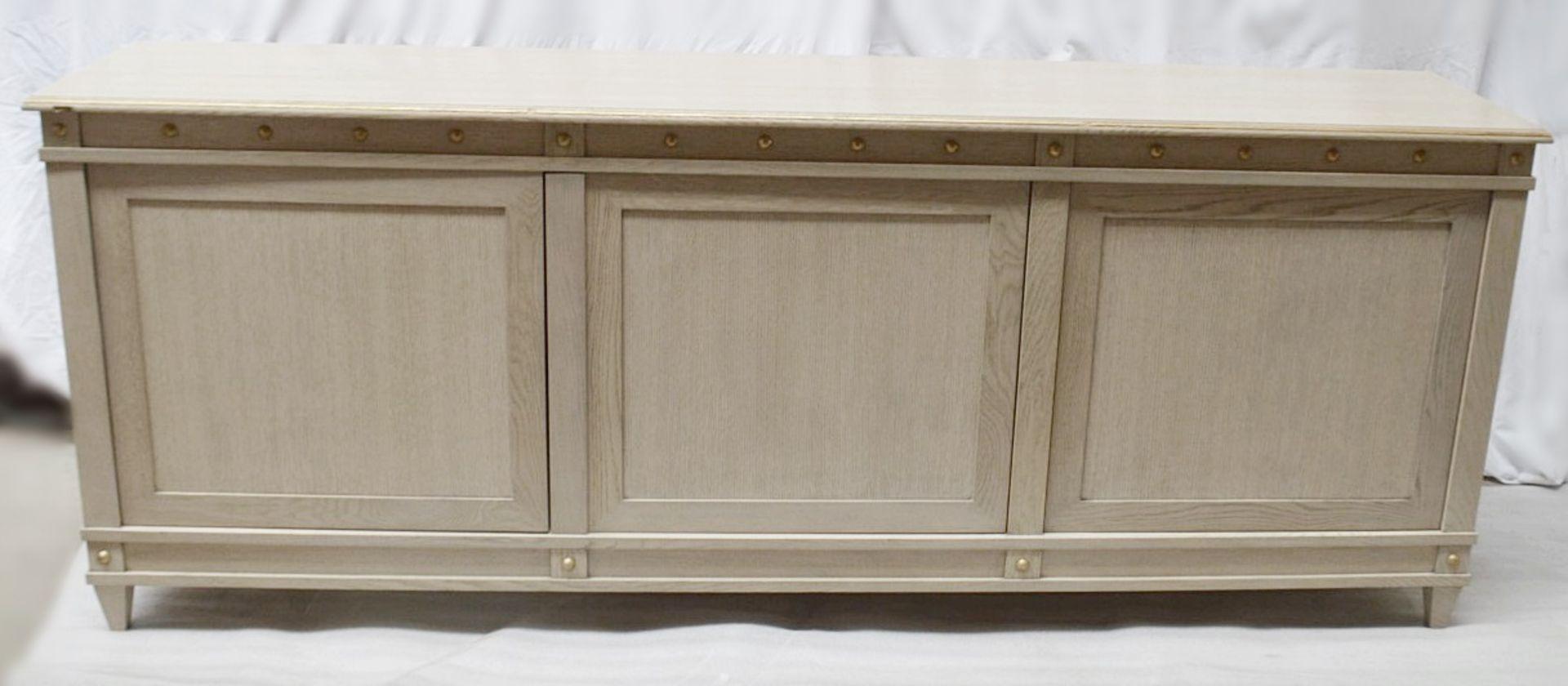 1 x JUSTIN VAN BREDA 'Monty' DesignerRegency-inspired3-Door Sideboard - Original RRP £9,700 - Image 13 of 16