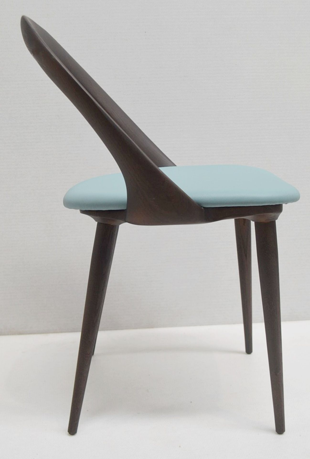 Set Of 4 x PORADA 'Ester' Italian Designer Dining Chairs Featuring Leather Seats - RRP £5,120 - Image 4 of 11