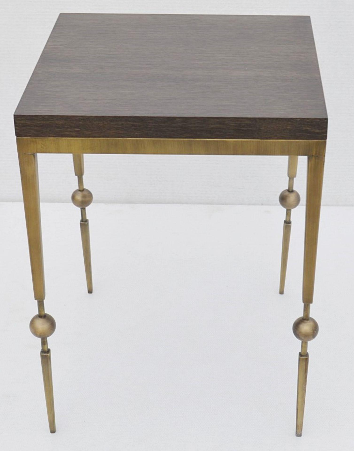 1 x JUSTIN VAN BREDA 'Sphere' Designer Occasional Table - Dimensions: H70 x W52 x D52cm - Ref: - Image 7 of 7