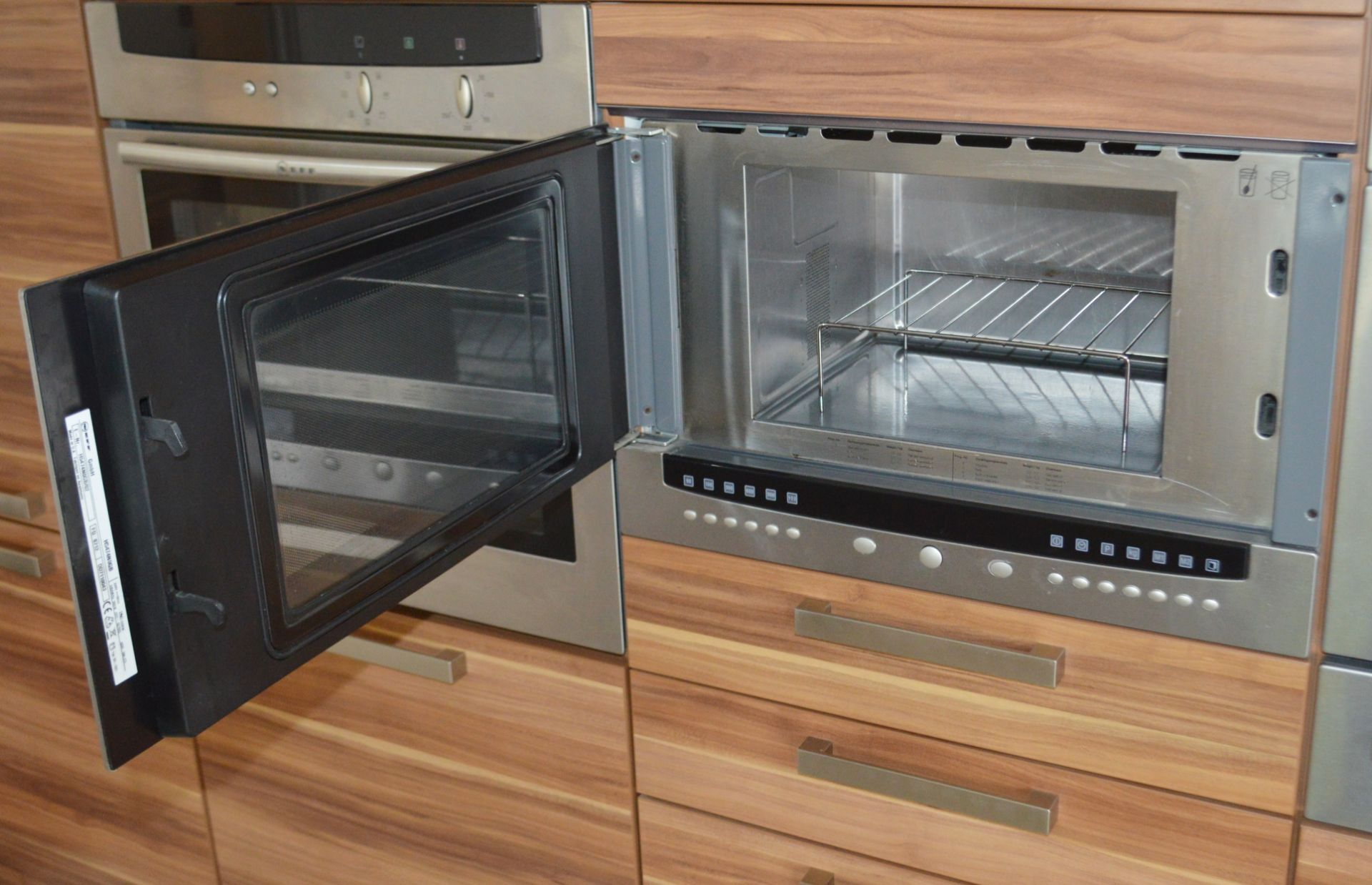 1 x Contemporary Bespoke Fitted Kitchen With Integrated Neff Branded Appliances, Quartz Worktops - Image 13 of 52