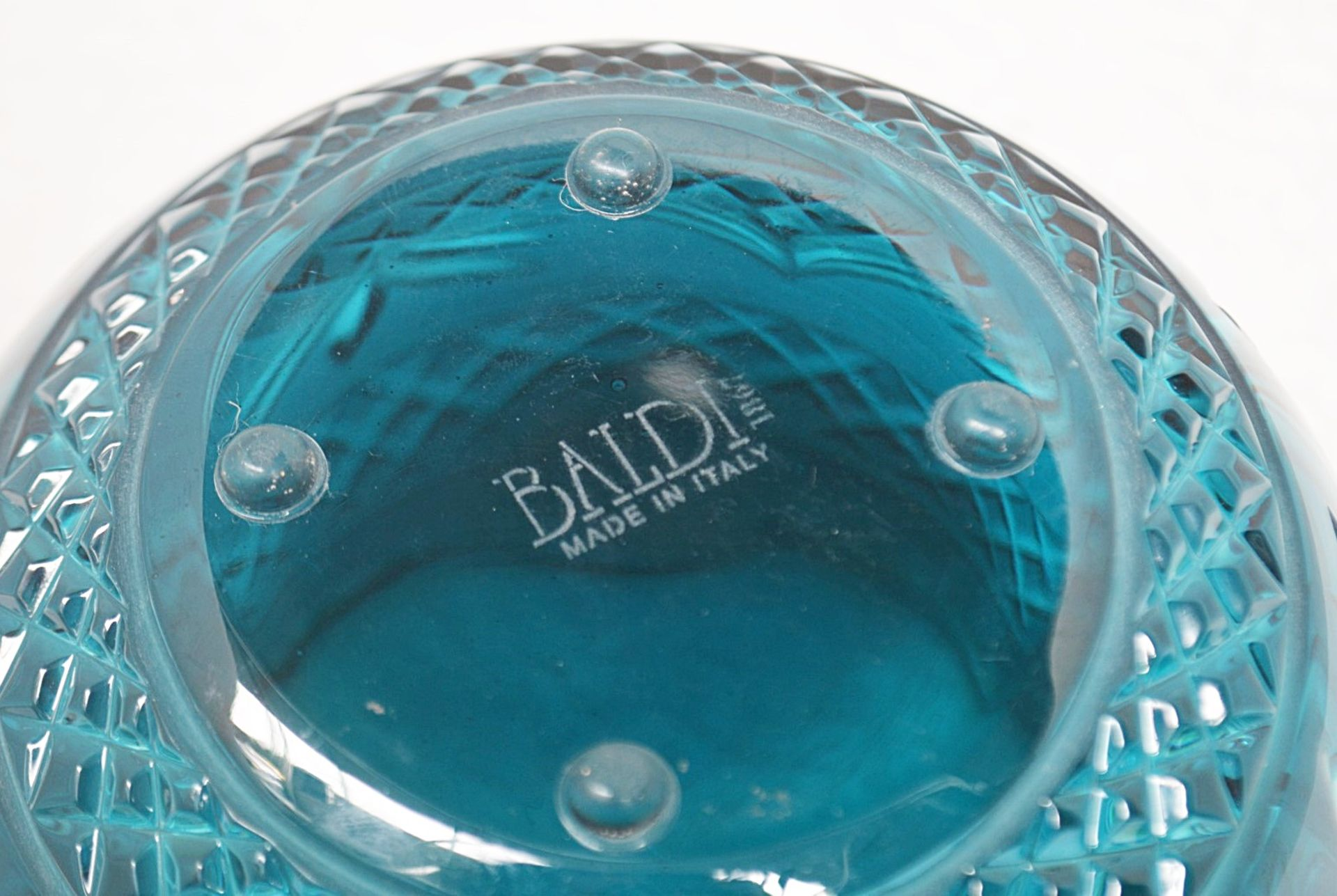 1 x BALDI 'Home Jewels' Italian Hand-crafted Artisan Crystal Coccinella Box In Turquoise - RRP £900 - Image 5 of 5