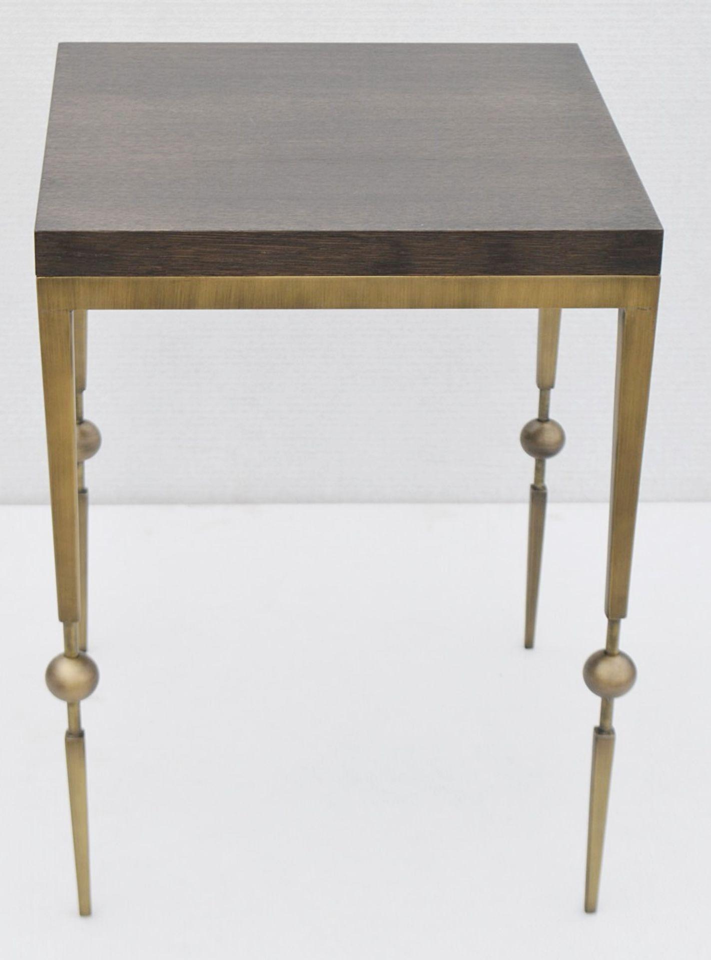 1 x JUSTIN VAN BREDA 'Sphere' Designer Occasional Table - Original RRP £1,200 - Image 4 of 6