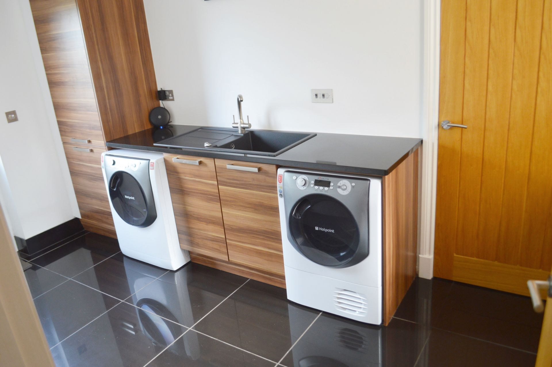 1 x Contemporary Bespoke Fitted Kitchen With Integrated Neff Branded Appliances, Quartz Worktops - Image 17 of 52