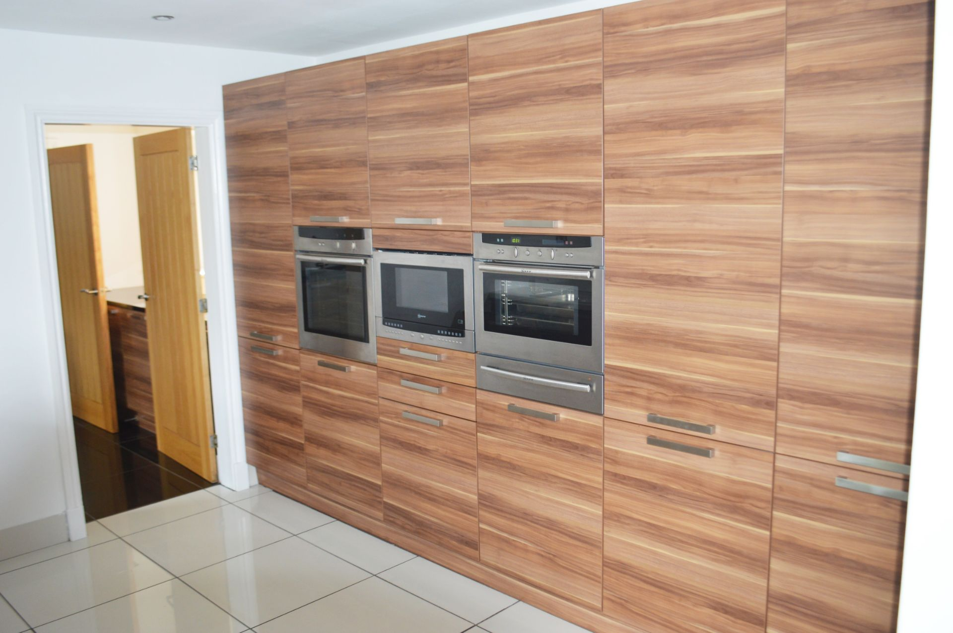 1 x Contemporary Bespoke Fitted Kitchen With Integrated Neff Branded Appliances, Quartz Worktops - Image 48 of 52