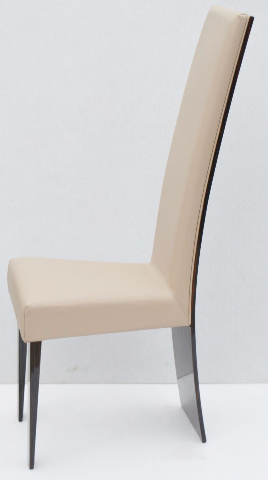 A Pair Of REFLEX 'New York-2' Designer Leather Upholstered High-back Chairs - Original RRP £2,578 - Image 8 of 8