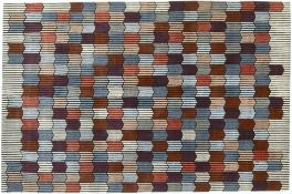 1 x LIGNE ROSET 'Mémoire d'une Trame' Designer Hand-knotted Pastel ColouredLuxury Rug- RRP £2,450