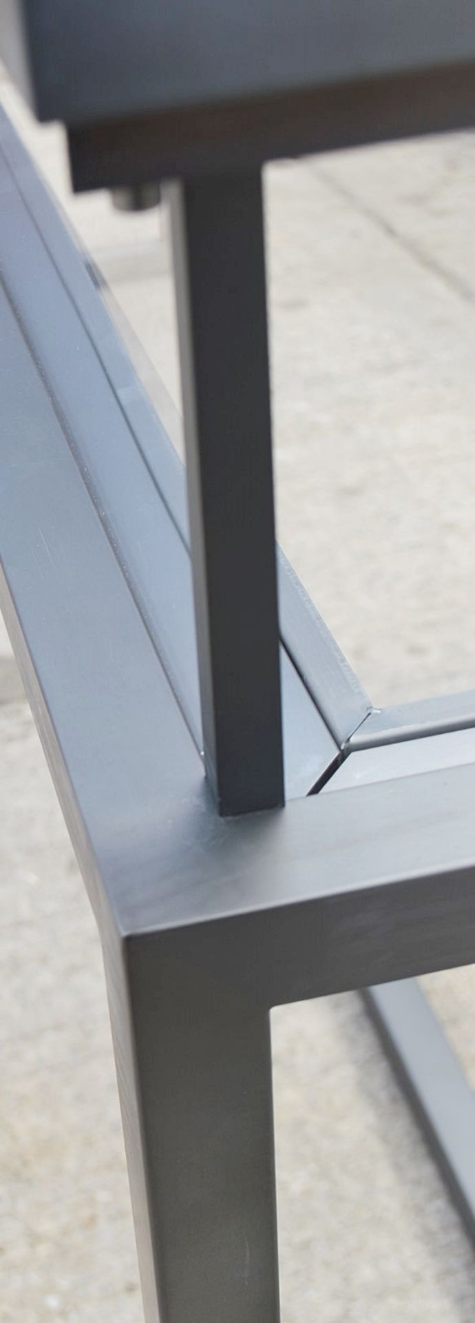 1 x EICHHOLTZ Luxury Console Table Harvey With A Sliding Glass Top And Steel Frame - RRP £3,839 - Image 14 of 16